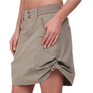 Kuhl Durango Khaki Skort Skirt Size 4
